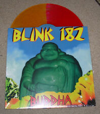 "BLINK 182 12"" New Red Orange Split  vinyl LP BUDDHA record album"