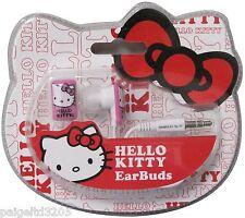 Sakar Sanrio Hello Kitty EarBuds Item#11409-Hk