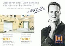 Werbekarte 2013 von Michael Schumacher
