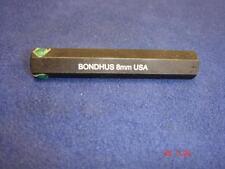 Bondhus Hexagon/Hex/Allen Key Bit 8mm with 8mm Shank ProHold 50mm Long