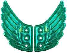SHWINGS GREEN FOIL wing wings for your shoes official designer Shwings NEW 10404
