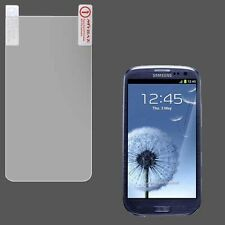 For Samsung Galaxy S III 3 Clear LCD Screen Protector Guard w/ Cleaning Cloth