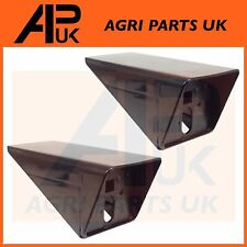 2 Case International 733 740 743XL Tractor Front Side Light Lamp Support Bracket