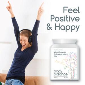 BODY BALANCE MOOD BOOSTER ANTI DEPRESSION PILLS FEEL HAPPY POSITIVE CALM
