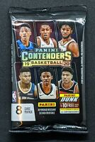 2019-20 PANINI CONTENDERS 1 Sealed Blaster Pack of 8 Cards! Chase ZION MORANT RC