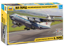 ZVEZDA 7011 - 1/144 RUSSIAN STRATEGIC AIRLIFTER IL-76MD - NEU