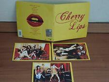 CHERRY LIPS  Same CD in LP miniature Italian hard rock glam girls band SIGILLATO