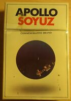 NEW Vintage Apollo Soyuz cigarettes Philip Morris Soviet Space 50th Anniversary