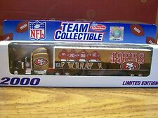 NFL, 2000 San Francisco 49ERS, TEAM COLLECTIBLES, White Rose Collectibles