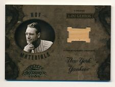 2003 Timeless Treasures * LOU GEHRIG * Game Used Bat Relic * #34/100