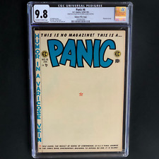 PANIC #6 (EC 1954-1955) 💥 CGC 9.8 ~ 1 OF ONLY 2! 💥 Wally Wood Mad