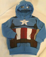 NWT Toddler Boy's Avengers Sweatshirt Hoodie 2T