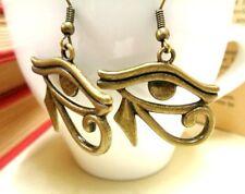 Bronze Eye of Horus Earrings Eye of RaProtection Egyptian Ladies Jewellery