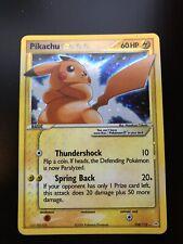 POKEMON CARD GOLD STAR PIKACHU 104/110 Ex/NM ENGLISH