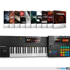 Native Instruments Maschine MK3, Komplete Kontrol S49 MK2 and Komplete Select