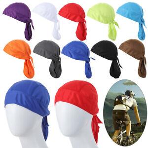 Dry Cap Headband Cycling Caps Bicycle Headscarf Cycling Bandana Pirate Cap