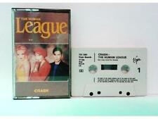 THE HUMAN LEAGUE - CRASH - CASSETTE - UK - 1986 - (EX/NM - EX/NM)