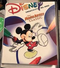 Disney Magic Artist Classic for PC, Mac CD-ROM Mickey Mouse NEW Sealed FREE SHIP