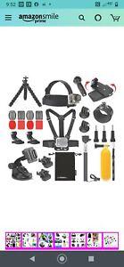 Luxebell Accessories Kit for AKASO EK5000 EK7000 4K WiFi Action Camera GoPro...