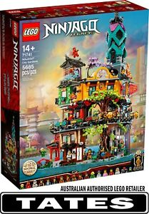 LEGO 71741 City Gardens - NINJAGO from Tates Toyworld