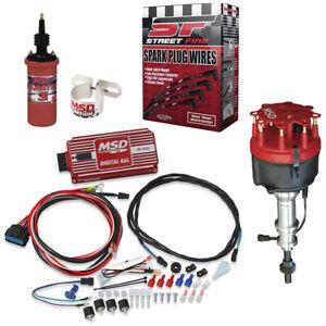 MSD 8598 Ford 289/302 Billet Distributor Ignition Kit, 6425/5541