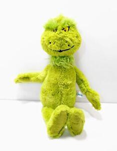 "Dr. Suess Aurora Grinch Plush - 12"" Sitting, 15"" Laying - 2019 Green Christmas"