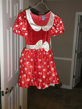 DISNEY STORE Minnie Mouse Costume for ADULT NEW LARGE Mickey's girl
