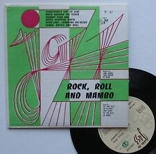 """Vinyle 33T (format 7"""") Orch. Norman, Clinton, Oliver  """"Rock, roll and manbo"""""""