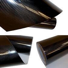 30 X 152CM Auto Folie Schwarz Klebefolie Hochglanz PREMIUM 2D 4D 5D 3D Autofolie