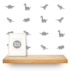 20 x Dinosaur Wall Decals / Stickers 15 colours available  Made in the UK