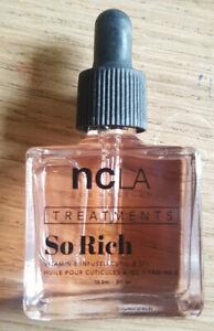 NCLA So Rich Peach Vanilla 81 neu 13,3ml Vitamin E vegan Hände Nagelhaut Nagelöl
