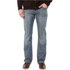 Levis 527 Slim Boot Cut Jeans Mens Medium Chipped Faded Blue 100% Cotton Denim