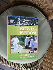 lawn bowling lawn bowls original ideas to improve merle richardson signed