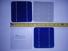 10 MONO Solar Cells 5x5 (125x125 mm) 2.8 watts ea.17.6 % EFF. 5.2 amps per cell