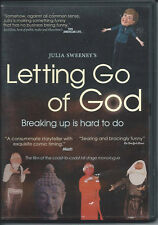 Letting Go of God: Breaking Up is Hard To Do Julia Sweeney DVD EXCELLENT