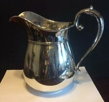 Manchester Sterling Silver Hollowware 1009 Water Pitcher 4 1/2 Pint