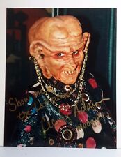 Star Trek Ds9 Autograph 8x10 Photo Signed by Cecily Addams as Moogie (Lhau-890)