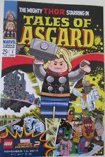 Tales of Asgard #1 LEGO Thor NYCC 2017 8x12 Marvel Superheroes 2 Poster Rare