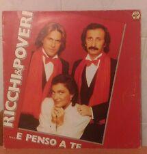 Ricchi e Poveri - ...E Penso A Te album LP vinyl vinile VG/EX pop italiano 1981