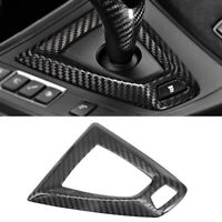 Carbon Fiber Gear Shifter Surround Cover Console Trim For BMW F87 M2 F80 M3