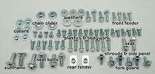 87pc KX PLASTICS & BODY BOLT KIT KAWASAKI KX60 KX65 KX80 KX85 KX125 KX250 KX500