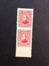Paraguay 1939 Imperf Error Pair Sc#L29
