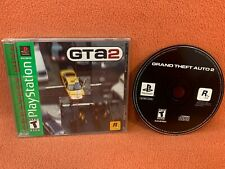 Gta 2 Grand Theft Auto Sony PlayStation 1 Psone Ps1 Greatest Hits Complete!