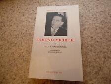 1987.Edmond Michelet.Jean Charbonnel (envoi)