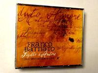 FRANCO BATTIATO  -  SIGILLO D'AUTORE - 3 CD BEST STUDIO & LIVE NUOVO E SIGILLATO