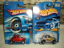 Hot Wheels Volkswagen Baja Bug Lot (2) Super Cool Both Different 1:64 Diecast