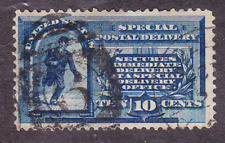 US Scott E1 old 10c Special Delivery stamp U/VF CV $80
