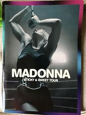 Madonna Sticky And Sweet Tour Book