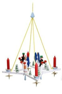 Lights Wreath Advents Wreath Star with Angel And Miner Wxd = 50x50cm New Wood
