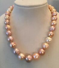 11x13mm weißen Süßwasser barocken Perlenarmband 19-20CM